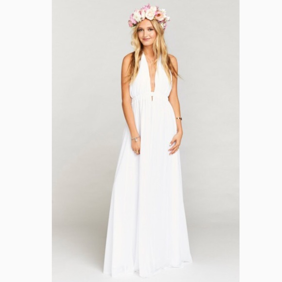 30dc97cc5 Show Me Your MuMu Dresses | Luna Halter Dress Large | Poshmark